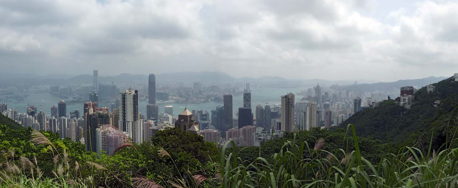 View from Victoria Peak 2012